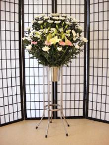 生花スタンド1対(例 20,000円)